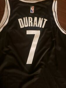 #7 Kevin Durant Nets Black Stitched Jersey