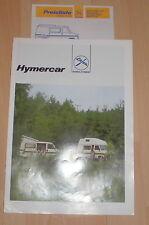 prospekt kfz reklame hymercar eriba wohnmobil fiat ducato heft werbung 80er auto