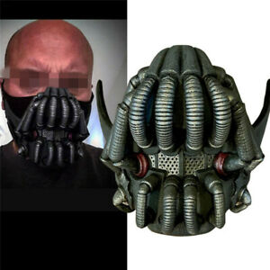 The Dark Knight Rises Bane Latex Mask Halloween Adult Cosplay Costume Mask Props