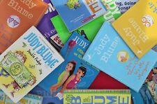 Lot of 5 Judy Blume Paperback Books MIX