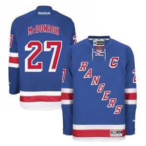 Ryan McDonagh Reebok New York Rangers Official Home Blue Premier Jersey Men's