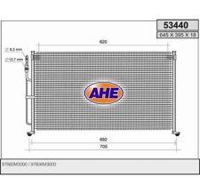 Kondensator Klimaanlage Klimakühler KIA Joice 2.0 99- AHE  53440