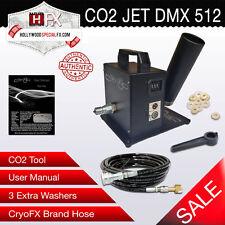 Cryo Jet - DMX 512 - CO2 Jet - Mounted Fog Kryo FX Blast Special Effects Cannon