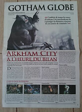 Batman Arkham City : Lithographie/Journal 4pgs [Collector - Ps3/Xbox360 - VF]