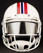 NEW ENGLAND PATRIOTS NFL Football Helmet with MIRROR Visor
