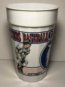 Trammell Whitaker Plastic Stadium Cup Detroit Tigers 1993 Collector Series MLB