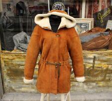 Cappotto montone shearling originale montgomery vintage donna taglia 46/48