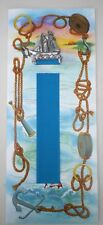 Sailing Boat Pewter Bookmark & Card - Seagull Pewter Canada - Maritime / Yacht