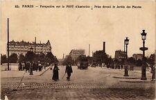 CPA PARIS 12e-Pont d'Austerlitz-Prise devant le Jardin des Plantes (322906)