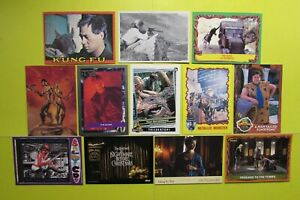 Lot Non Sport Cards 1965>*JAMES BOND 007* KUNG-FU RoboCop BORIS OutLander SP/500