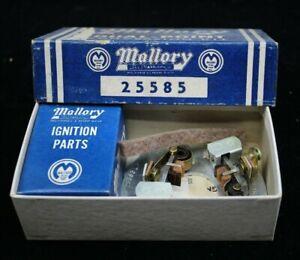 NOS MALLORY Dual POINT conversion FORD Y-BLOCK V8 Hot Rod custom distributor vtg