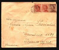 Italy 1925 Cover to Argentina / Light Creasing - Z16863