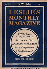 1904 Leslie's Monthly May - Rodeo is roughest riding; San Domingo;Charles L Bull