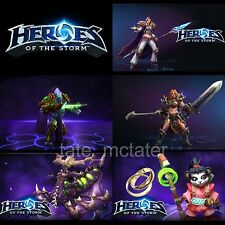 Heroes of the Storm 5 Heroes Bundle - Region Free Codes - In 2 Hours or Less!