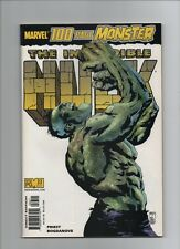 The Incredible Hulk #33 - 100 Page Monster Black Panther - 2001 (Grade 9.2) WH