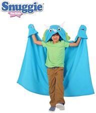 Snuggie – Kids Dinosaur Snuggie Tail Blanket with Sleeves, As Seen on TV, Blue