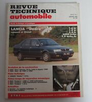 Revue technique RTA 535 Lancia dedra essence & diesel 1.6 1.8 2.0 ie 2000 turbo