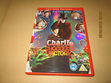 TWO DISC EDITION JOHNNY DEPP CHARLIE AND THE CHOCOLATE FACTORY  DVD