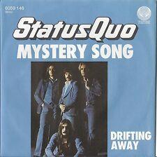 "7"" STATUS QUO - Mystery Train / Drifting Away   UNGESPIELT"