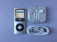 Apple Ipod Nano 4th Generation Silver (8 gb) mint