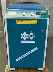 Renner RSK15 Rotary Screw Compressor + Dryer, 15kw, 79cfm! Fully Serviced!