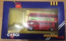 1365-London Bus Corgi Die-cast modelo (no taxi)