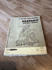 Heathkit Assembly Manual SB-200 Linear Amplifier Manual Only