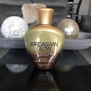 New Kardashian Glow Naturally Dark Bronzer ✨ Tanning Lotion Designer Skin 10 oz