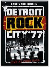 KISS Detroit Rock City '77 Fridge Magnet 90mm x 65mm (nm)