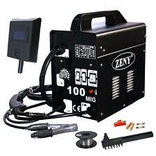 ZENY MIG-100 Gas-Less Flux Core Wire Welder Welding Machine w/Cooling Fan 90 AMP