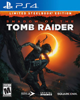 Shadow Of The Tomb Raider, Limited Steelbook Edition, PlayStation 4, PS4 Game