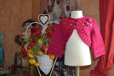 veste bolero  neuve catimini magnifique 6 mois 25% laine