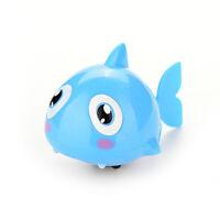 1 Stücke Wind Up Clockwork Kind Baby Spielzeug Geschenk Hai Bad Schwimmen D ev