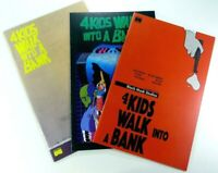 4 Kids Walk Into A Bank #1 NM First Print Newbury Comics Fargo Homage VHTF L@@K!