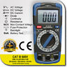 DIGITAL MULTIMETER TESTER PLUS NON CONTACT VOLTAGE CAT III 600V