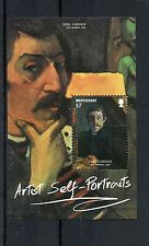 Montserrat 2015 Mnh Artist Self Portraits 1v S/S Paul Gaugin Art Paintings