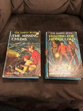 #5 HARDY BOYS Hunting for Hidden Gold c1963 Matte Hardcover