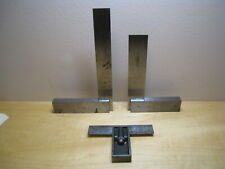 GROUP OF MACHINIST SQUARES BROWN & SHARP, ENGLAND 6'' BSS 939, SAWYER TOOL #4