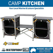 OZtrail Camp Kitchen Double Pantry Storage Outdoor