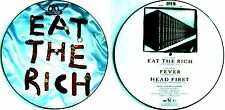 "12"" - AEROSMITH - EAT THE RICH (MAXI, PICTURE DISC) MINT, LISTEN - NUEVO OYELO"
