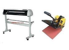 HX-720&38x38 Sign Vinyl Cutter Plotter Tshirt Heat Press Package