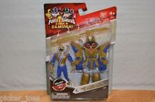 "NEW Bandai Power Rangers CLAW BATTLEZORD ARMOR with RANGER Blue 4"" Light Figure"