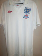 "England WC 2010 Ltd Edition Home Football Shirt Size 42"" /3569"