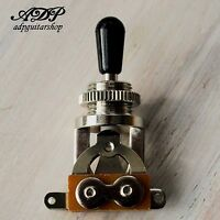 Selecteur Switch 3 ways Toggle METRIC style Switchcraft MIJ Chrome Black Button