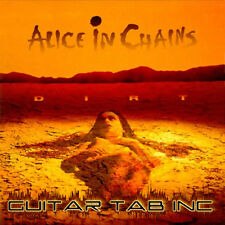 Alice In Chains Guitar Tab DIRT Lessons on Disc