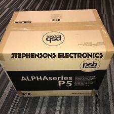"New PSB Speakers ALPHA P5 5 1/4"" Bookshelf Speakers (Black or Walnut)"