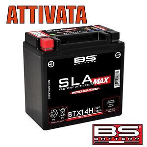 Batteria BTX14H 12V/14Ah/220/CCA a gel sigillata GIA' attivata BS Sla Max BTX14H