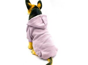 AXEL PETS Hoodie Sport Sweatshirt for Dog and Puppy - Warm Hooded Pullover cloth