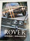 Rover 3500 & 3500 S P6 V8 Series 2 1971-72 UK Market Sales Brochure 815/5.72