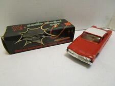 VINTAGE AMT 1960 FORD STARLINER PROMO CAR W/FLYWHEEL MOTOR  & BOX **EXCELLENT**